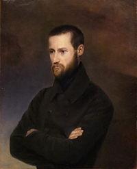Auguste Blanqui, en su juventud.