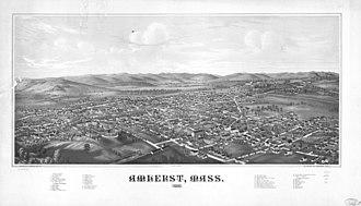 L. R. Burleigh - Image: Amherst Mass 1866