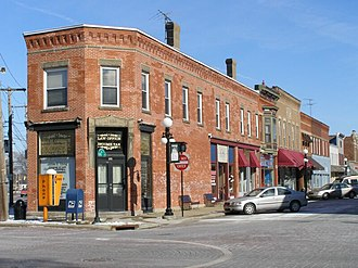 Amherst, Ohio - Main Street in Amherst