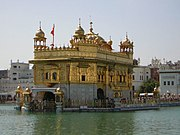 The Adi Granth was first installed in Golden Temple