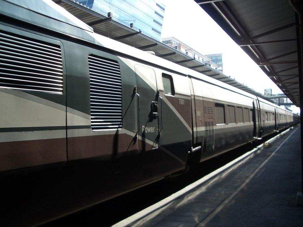 Amtrak Cascades cars