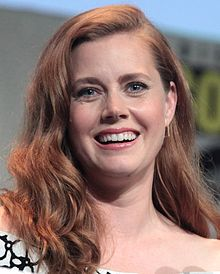 A photograph of Amy Adams at theSan Diego Comic-Con International in 2015