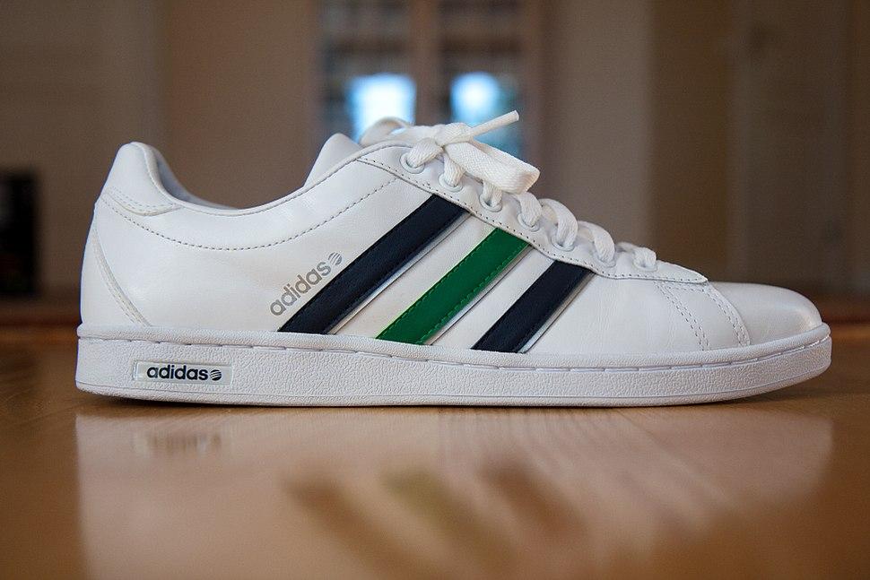 An Adidas shoe
