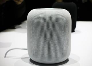 HomePod smart speaker designed by Apple inc