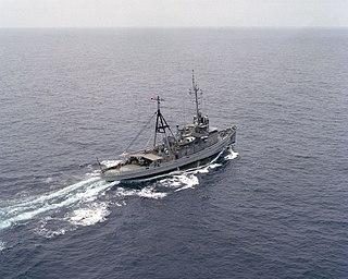 USS <i>Moctobi</i> (ATF-105) Abnaki-class fleet ocean tug in the US Navy
