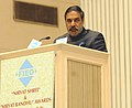 Anand Sharma addressing at the presentation ceremony of the Federation of Indian Export Organisation's 'Niryat Shree' and 'Niryat Bandhu' Awards, in New Delhi on October 05, 2012.jpg