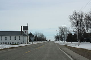 Angelica (CDP), Wisconsin Census-designated place in Wisconsin, United States