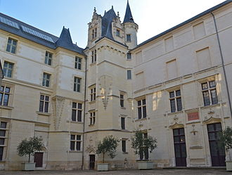 The Logis Barrault, where the Edict of Nantes was prepared Angers - Logis Barrault (2).jpg