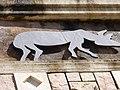 Animal Sculptures at the entrance to Ramot, Jerusalem -2 (6815582828).jpg