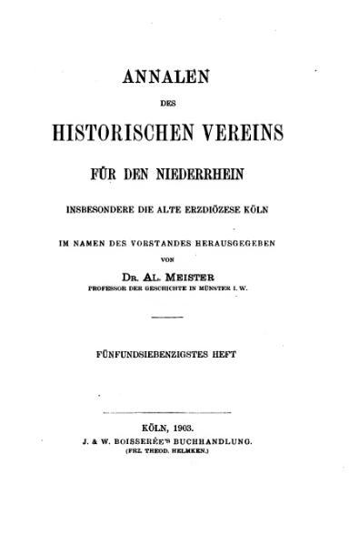 File:Annalen des Historischen Vereins für den Niederrhein 75 (1903).djvu