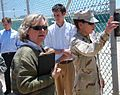 Anne-Marie Lizin, President of the Belgian Senate, visits Guantanamo.jpg
