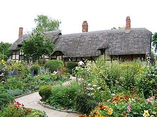 Shottery village in United Kingdom