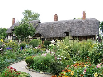 Anne Hathaway (wife of Shakespeare) - Hathaway family cottage near Stratford