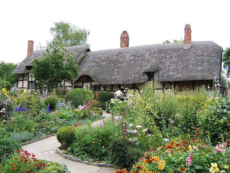 File:Anne Hathaways Co... Anne Hathaway S Cottage