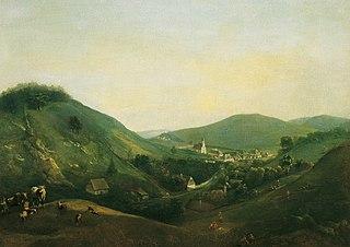 Landschaft bei Kalksburg