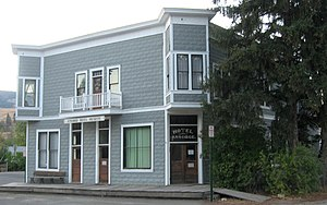 National Register of Historic Places listings in Ferry County, Washington - Image: Ansorge Hotel 01
