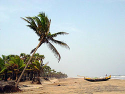 Antarvedi Beach view in East Godavari District