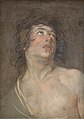 Anthony van Dyck - Study Head of a Young Man Looking Upwards. St Sebastian - KMS3222 - Statens Museum for Kunst.jpg