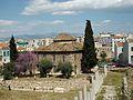 Antic fòrum romà i mesquita de Fethiye a Atenes.JPG
