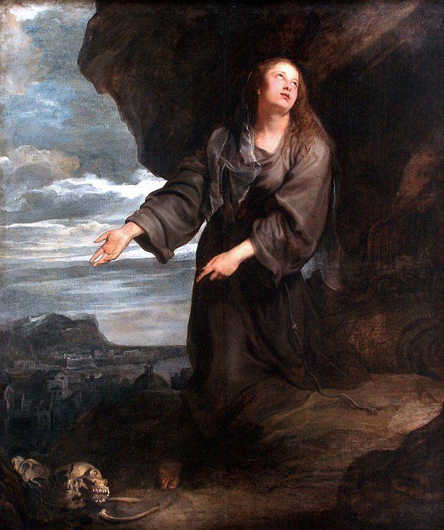 Sainte Rosalie demandant à dieu de sauver Palerme de la peste (1629) - Tableau d'Anthony van Dyck