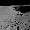 Apollo 15 Station 2 Rille, Lunar Rover, Scott.jpg