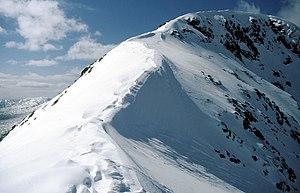 Beinn Fhionnlaidh (Creran) - Image: Approaching the summit of Beinn Fhionnlaidh (geograph 2006375)
