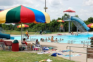Louisburg, Kansas - Louisburg Aquatic Center (2008)