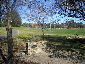 Belconnen - Image: Aranda playing fields tablet