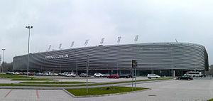 2017 UEFA European Under-21 Championship - Image: Arena Lublin podczas XI Lubelskiego Festiwalu Nauki 10