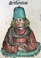 Aristotle in Nuremberg Chronicle