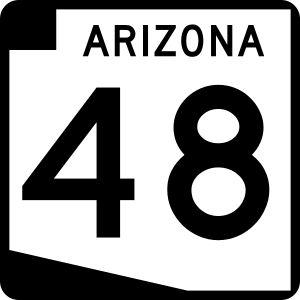 Arizona Route Marker