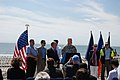 Army Corps and partners announce progress on post-Sandy Rockaway Beach renourishment 8-15-13 (9576162309).jpg