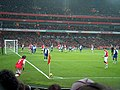 Arsenal have a corner - geograph.org.uk - 1612772.jpg