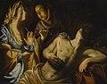 Artemisia Gentileschi - Saint Sebastian tended by Saint Irene 271N10007 B2JNL.jpg