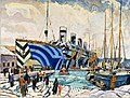 Arthur Lismer - Olympic with Returned Soldiers.jpg