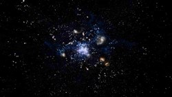 Податотека:Artist's impression of a protocluster forming in the early Universe.ogv