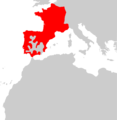 Arvicola sapidus range Map.png