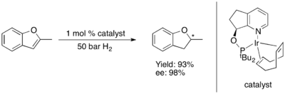 Asymmetric Hydrogenation of Benzofuran.png