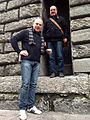 Atanas Atanassov e Giordano Berti in Bologna, Spring 2014.jpg