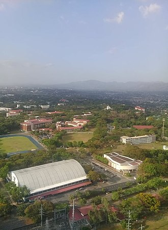 Loyola Schools - View of the Loyola Heights campus.