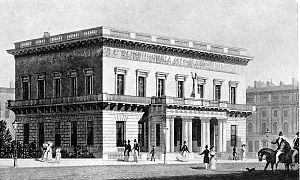 Athenaeum Club, London - The Athenaeum Club in 1830