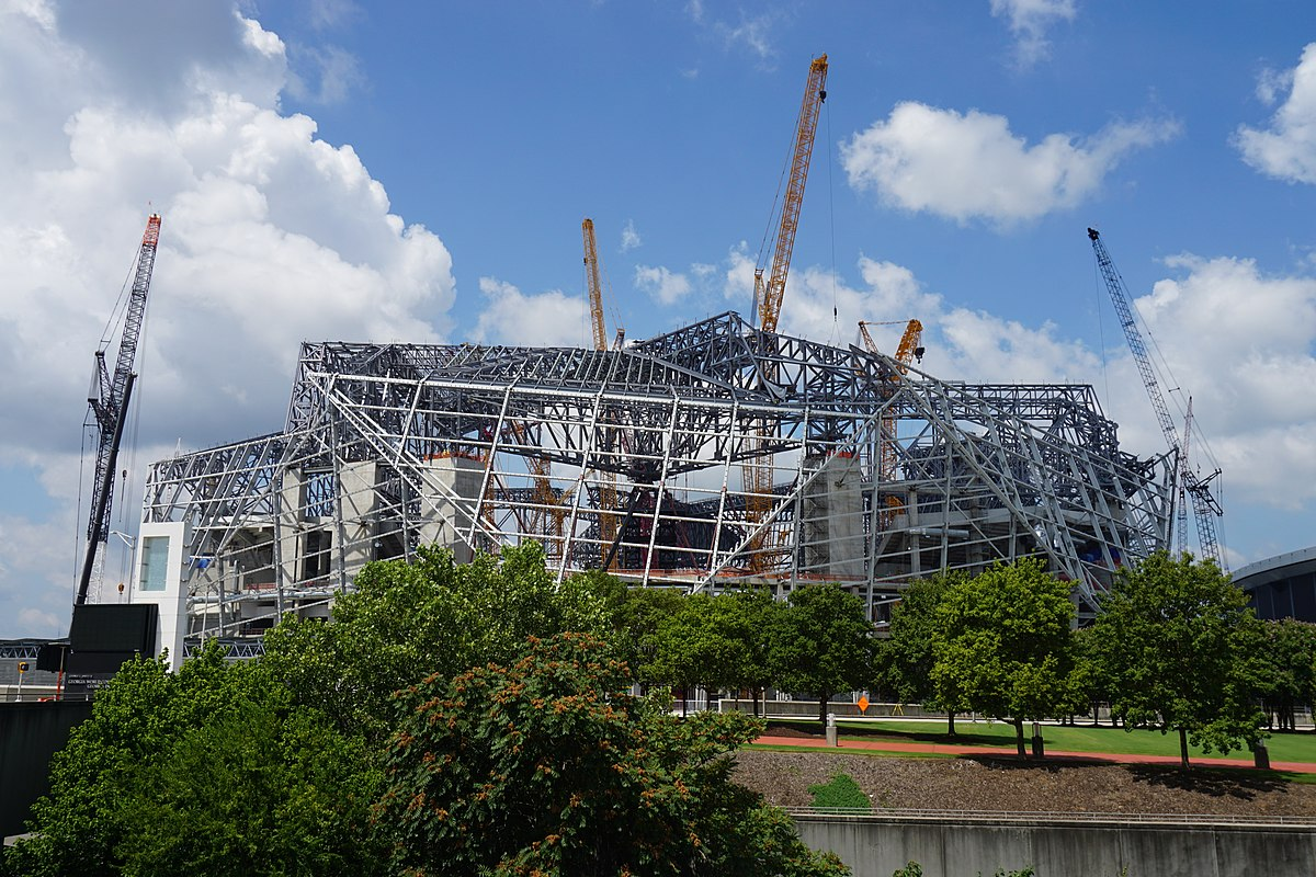Mercedes benz stadium wikidata for Who owns mercedes benz stadium