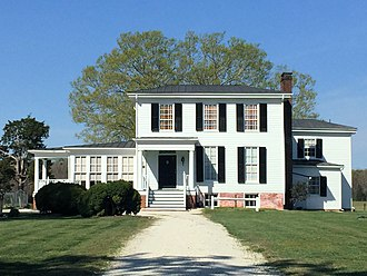 National Register of Historic Places listings in Caroline County, Virginia - Image: Auburn house, Caroline County VA
