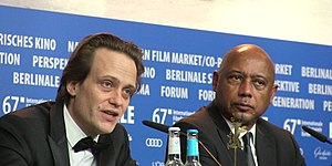 The Young Karl Marx - August Diehl and Raoul Peck at the 67th Berlin International Film Festival