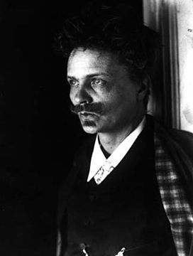 August Strindberg photographic selfportrait 2