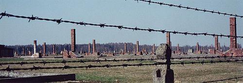 Ruinas de Auschwitz. Faz parte do patrimônio da humanidade.