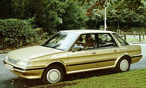 Austin Montego - Image: Austin Montego gold 1984