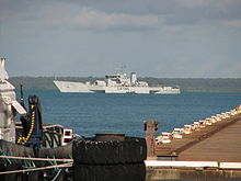 Australian Customs ship Triton moored in Darwin Harbour.jpg