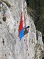 """Autorova """"Zastava u stijeni"""", Romanija - panoramio.jpg"""