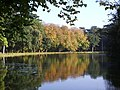 Autumn Scene,The Lake at Holkam Hall - geograph.org.uk - 308402.jpg